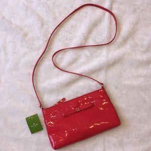 •NEW• Kate Spade vinyl crossbody purse